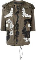 Antonio Marras three-quarters sleeve jacket - women - Cotton/Polyester/Viscose - 44