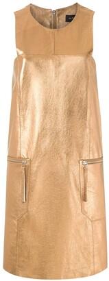 Olympiah short metallic dress