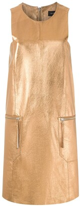 Olympiah Short Metallic Dress