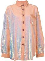 Ashish sequin oversized shirt