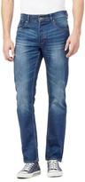 Red Herring Mid Blue Straight Leg Jeans
