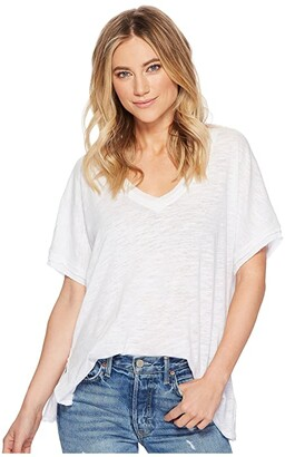 Free People Take Me Tee (Black) Women's T Shirt