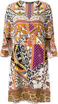 Roberto Cavalli printed dress - women - Silk - 40