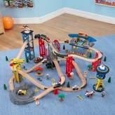 Kid Kraft 80-pc. Super Highway Train Set