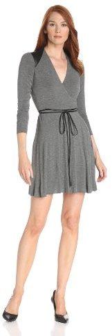 Bailey 44 Women's My Own Heart's Heart Wrap Long Sleeve Dress