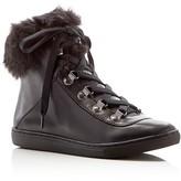 Pour La Victoire NYX Faux Fur Trim Sneakers
