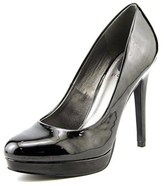 G by Guess Rozey Women Open Toe Synthetic Black Platform Heel.