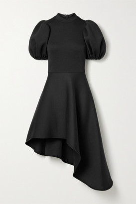 Beaufille Leo Asymmetric Jersey Dress - Black