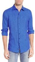 Rodd & Gunn Men's Glenhope Sports Fit Linen Sport Shirt
