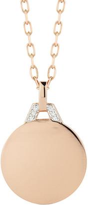 Rosegold Walters Faith Dora Diamond-Pendant 18K Rose-Gold Necklace