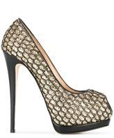 Giuseppe Zanotti Design 'Sharon' pumps - women - Calf Leather/Leather/PVC - 36.5