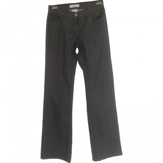 Max Mara Grey Cotton - elasthane Jeans for Women