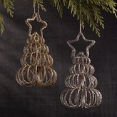 Crate & Barrel Curl Tree Place Card Holders-Ornaments