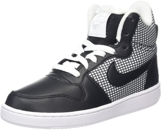 Nike Court Borough Mid Se Womens Low-Top Sneakers