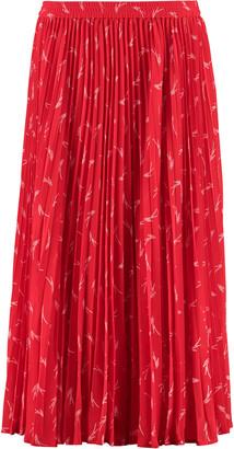 MICHAEL Michael Kors Printed Pleated Skirt
