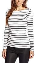 Esprit Women's 995EE1K912 Striped Long Sleeve T-Shirt