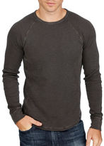 Lucky Brand Lived In Thermal Crewneck Tee