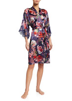 Thumbnail for your product : Lise Charmel Reve Orchidee Floral Burnout Robe