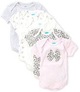 Rene Rofe Newborn/Infant Girls) 5-Pack Printed Bodysuits