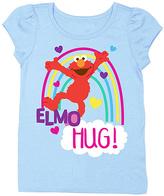 Freeze Light Blue Sesame Street 'Elmo Hug!' Tee - Toddler & Girls