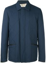 Loro Piana quilted effect buttoned jacket