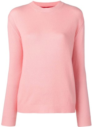Parker Chinti & contrasting panel knitted jumper