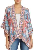 Tolani Rhea Mixed-Print Kimono