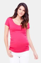 Women's Ingrid & Isabel V-Neck Short Sleeve Maternity Tee