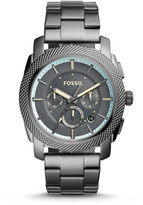 Fossil Machine Chronograph Gunmetal Stainless Steel Watch