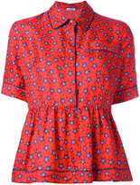 P.A.R.O.S.H. star print blouse - women - Silk - S