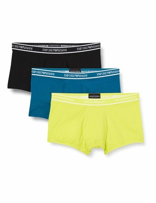 Emporio Armani Men's Core Logoband 3-Pack Trunk