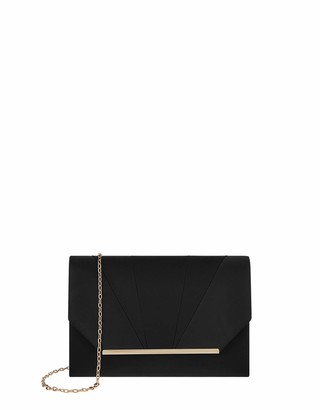 Accessorize Women Louise Satin Clutch Bag