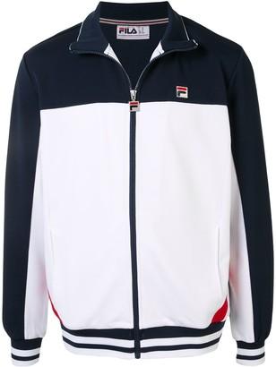 Fila Logo Embroidered Sport Jacket