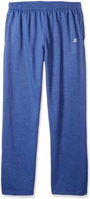 Russell Athletic Men's Big and Tall Fleece Pant Open Bottom r LFT Thigh 2 Pockets