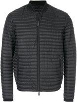 Armani Jeans padded bomber jacket