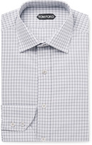 Tom Ford - Checked Cotton Shirt