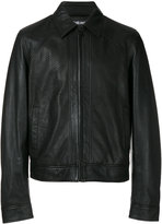 Just Cavalli shirt jacket - men - Leather/Polyester/Viscose - 46