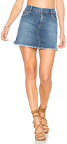 James Jeans Mia Cut Off Mini Skirt