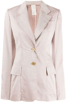Gianfranco Ferré Pre-Owned 2000s Fitted Blazer