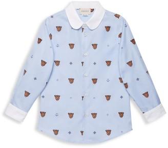 Gucci Little Boy's & Boy's Long-Sleeve Shirt