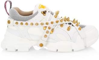 Gucci Flashtrek Spike High-Tech Sneakers