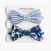 J.Crew Girls' fabric bow hair ties