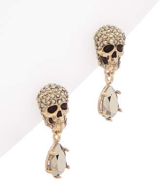 Alexander Mcqueen Pave Stone Earrings