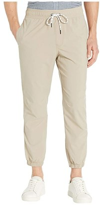 Vineyard Vines Performance On-The-Go Joggers (Khaki) Men's Casual Pants