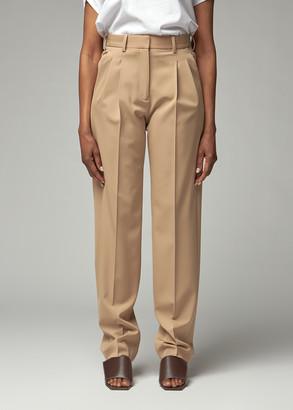 Stella McCartney Women's Pleated Pant in Sugar Cane Size 38