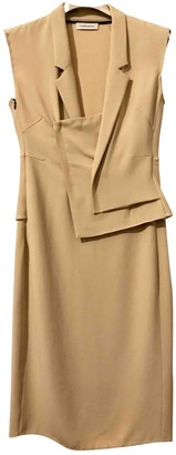 CNC Costume National Beige Dress for Women