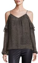 Ramy Brook Printed Misti Silk Top