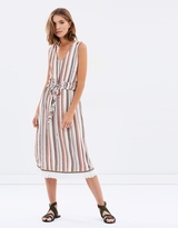 Moon River Sunday Stripe Dress