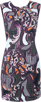 Versace Baroccoflage cady dress - women - Silk/Viscose - 40