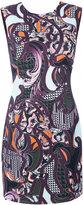 Versace Baroccoflage cady dress - women - Silk/Viscose - 44